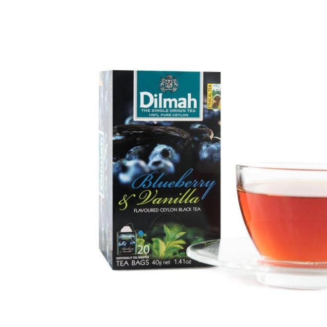 Dilmah foil env Blueberry & Vanilla
