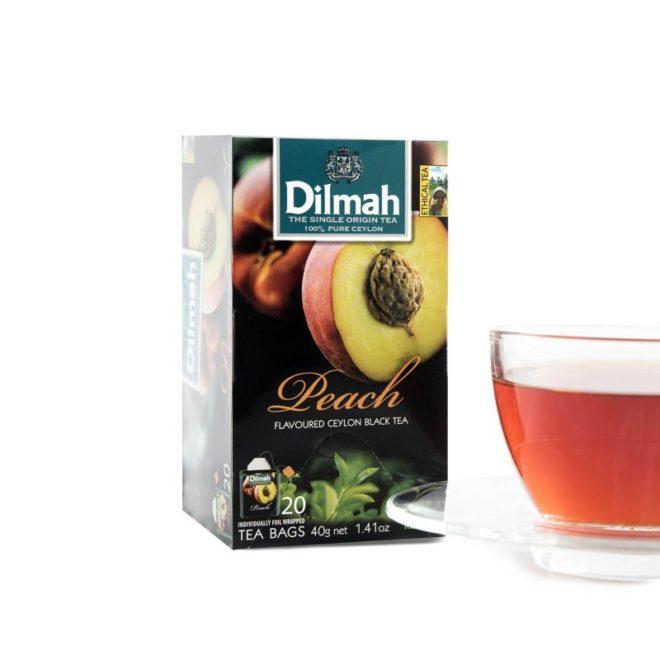 Dilmah foil env Peach