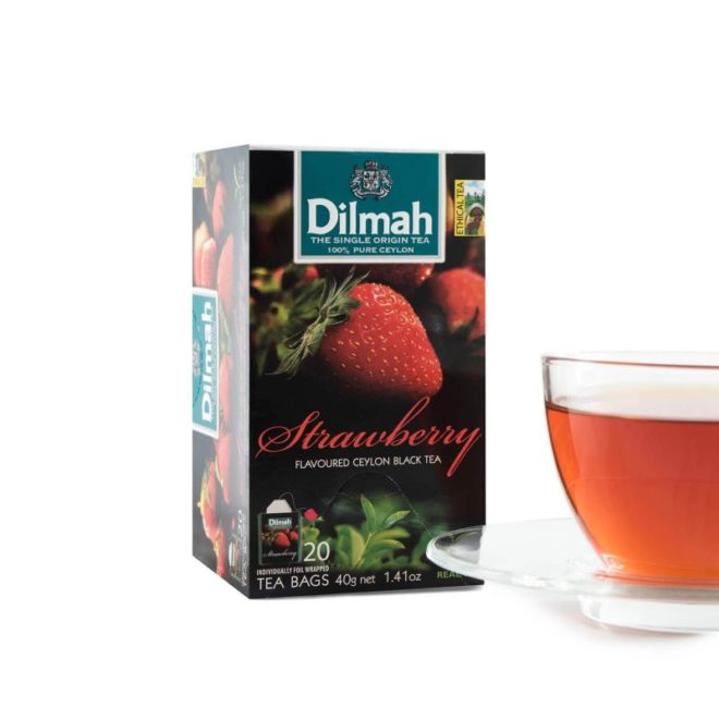 Dilmah foil env Strawberry