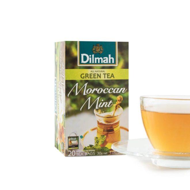 Dilmah foil env Maroccan Mint